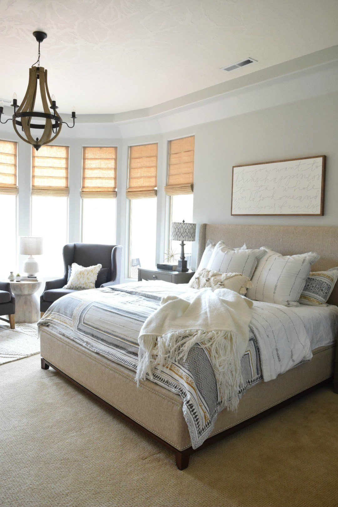 Best Modern Home Refresh With Simply White Paint Nesting With Grace With Pictures