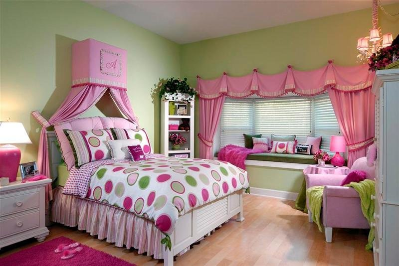 Best Nice Decors » Blog Archive » Stylish Pink T**N Girls Room With Pictures