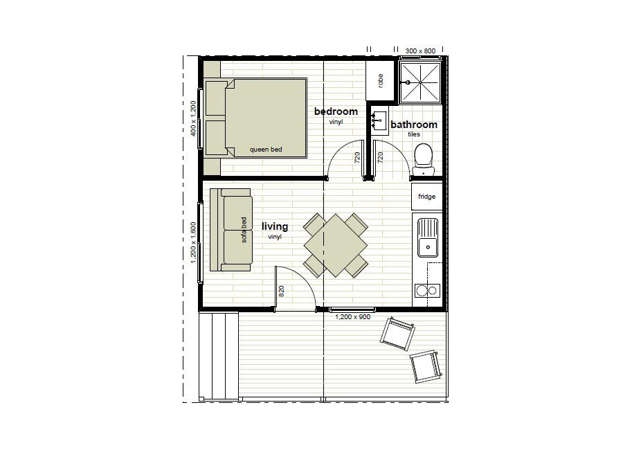 Best Cabin Floor Plans Oxley Anchorage Caravan Park With Pictures