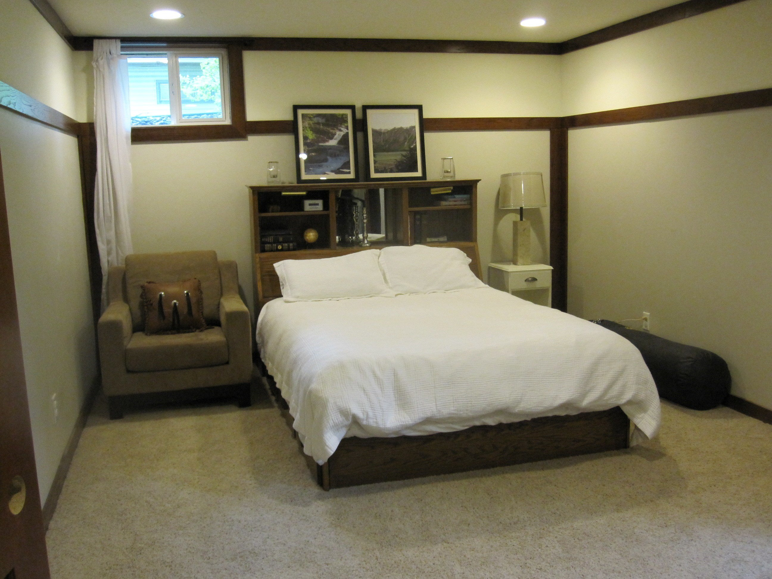 Best Basement Progress Large Bedroom Our Humble Abode With Pictures