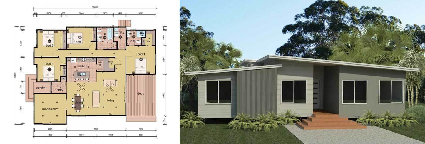 Best The Coburn 4 Bedroom Modular Home Parkwood Homes With Pictures