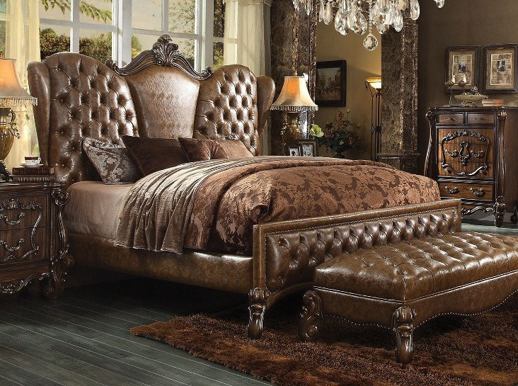 Best 52105 Acme Versailles Ivory Sofa Set Collection West Elm With Pictures