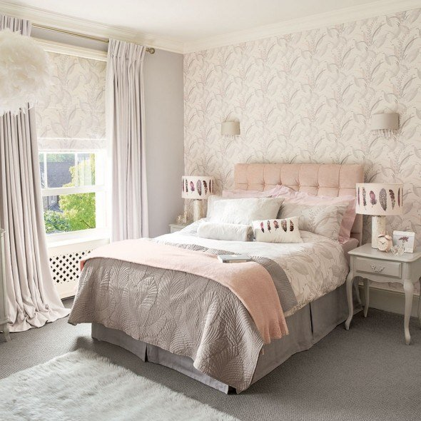 Best 12 Pink And Grey Bedroom Ideas Pink And Grey Bedroom With Pictures