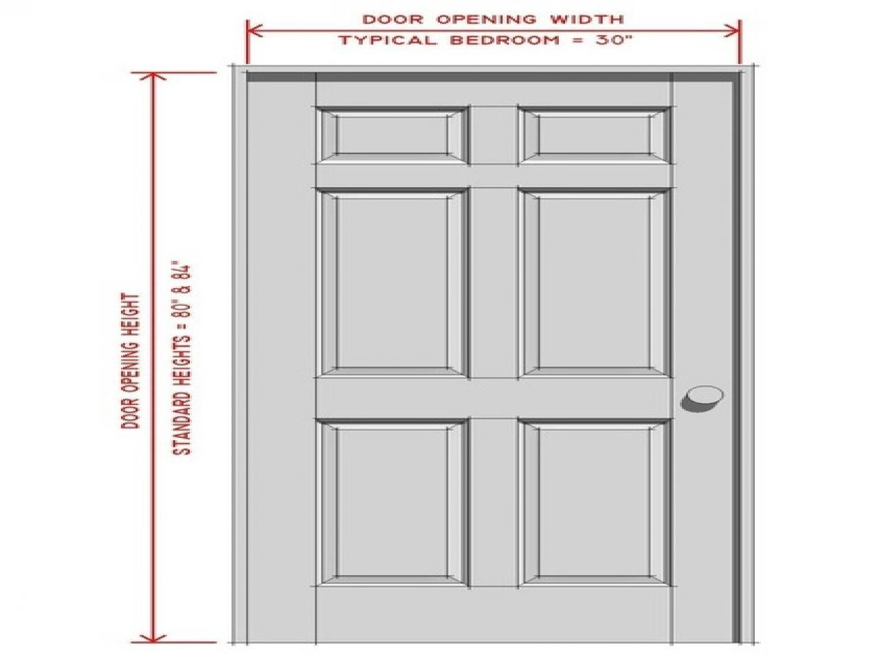 Best Standard Bedroom Door Size Interior Chart Wooden Door In Suppliers Adsensr Com With Pictures