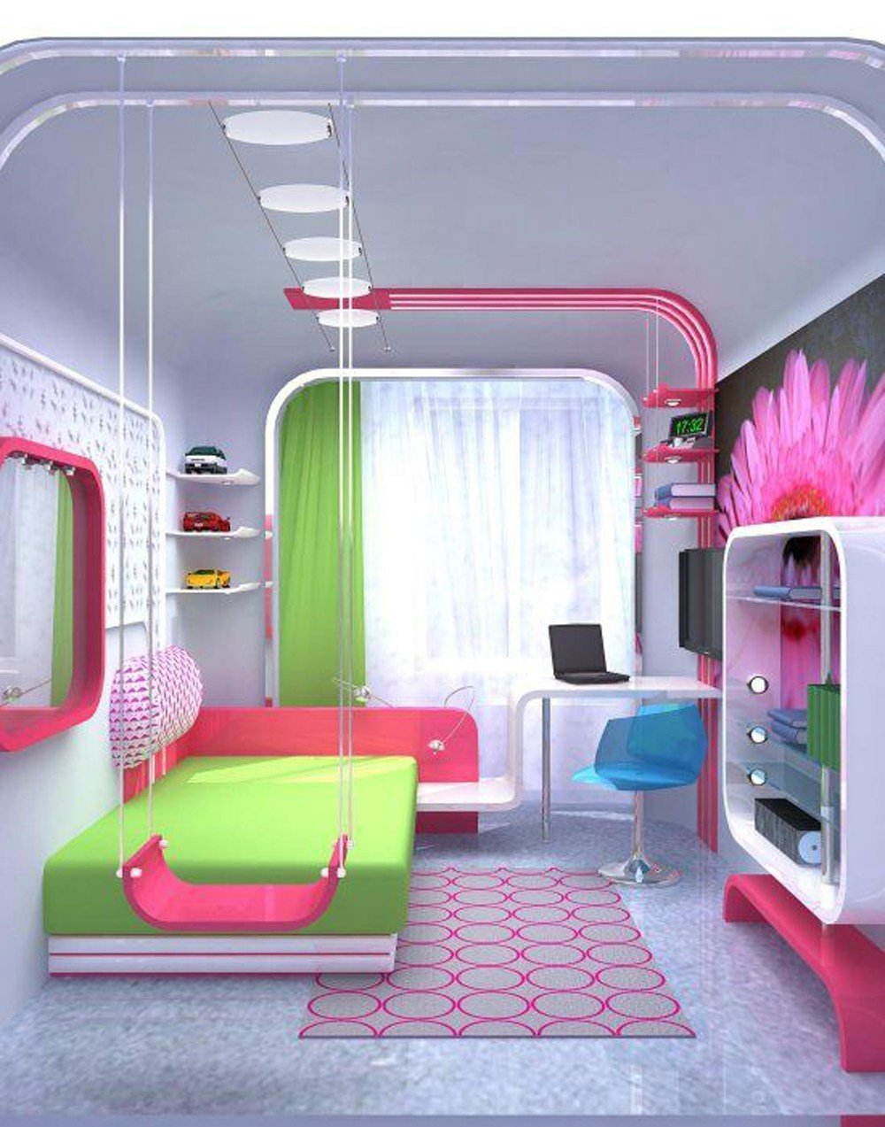 Best Stylish Colorful Bedrooms For Girls Allarchitecturedesigns With Pictures