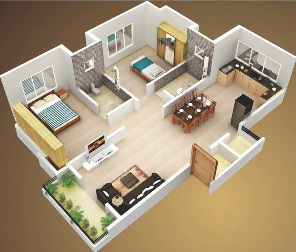 Best Spectacular 3D Home Floor Plans – Amazing Architecture With Pictures