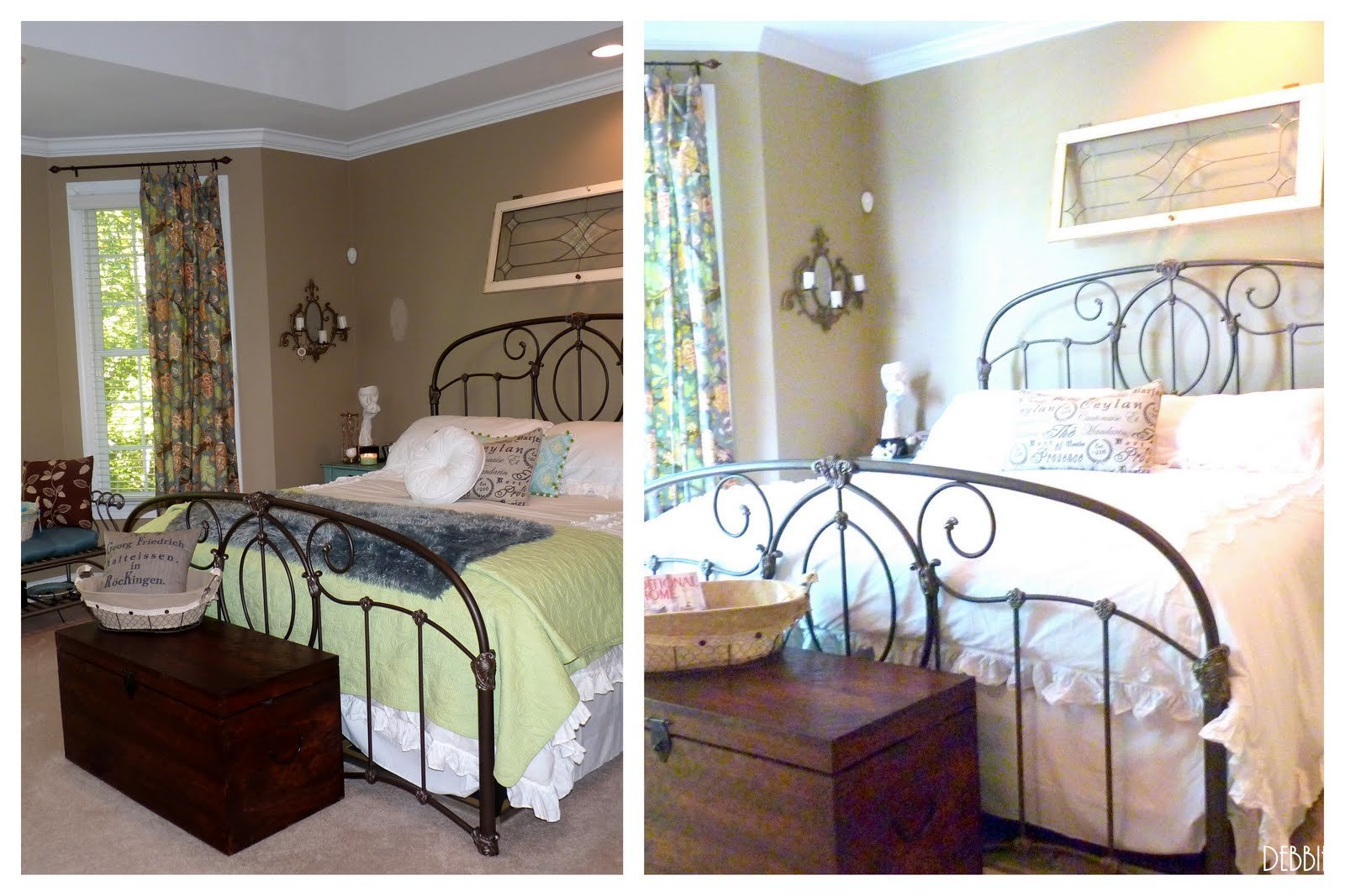 Best Debbiedoo S Pottery Barn Inspired Master Bedroom Shabby With Pictures