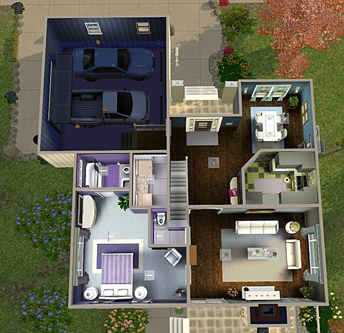 Best My Sims 3 Blog 4 Bedroom 3 Bath House By Chellemh29 With Pictures