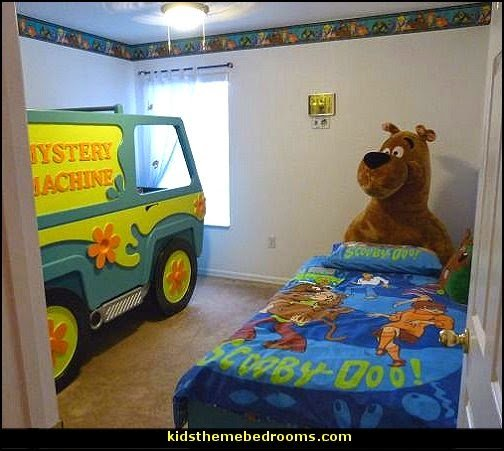 Best Decorating Theme Bedrooms Maries Manor Scooby Doo Theme With Pictures