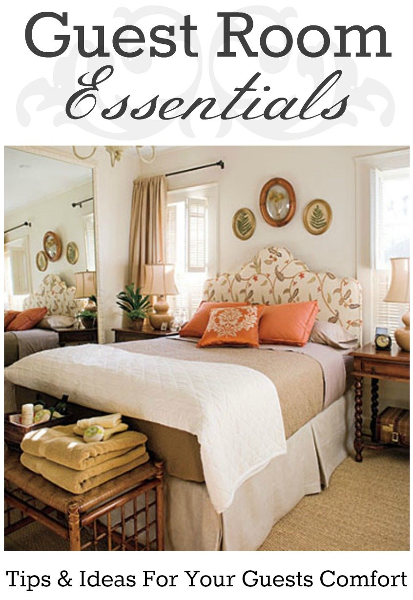 Best Guest Room Essentials Tips And Ideas To Play The Perfect With Pictures