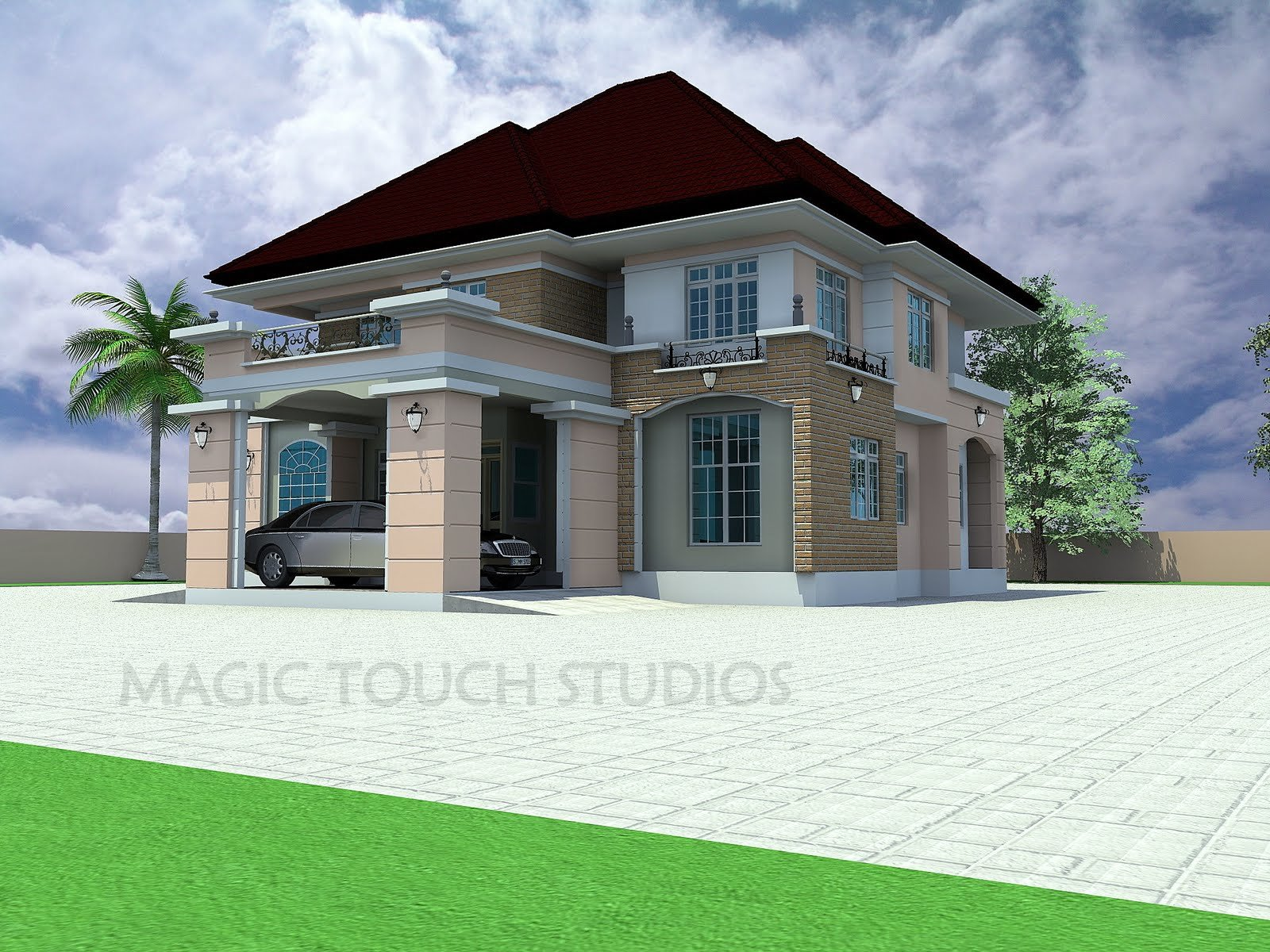 Best 5 Bedroom Duplex Modern And Contemporary Nigerian With Pictures