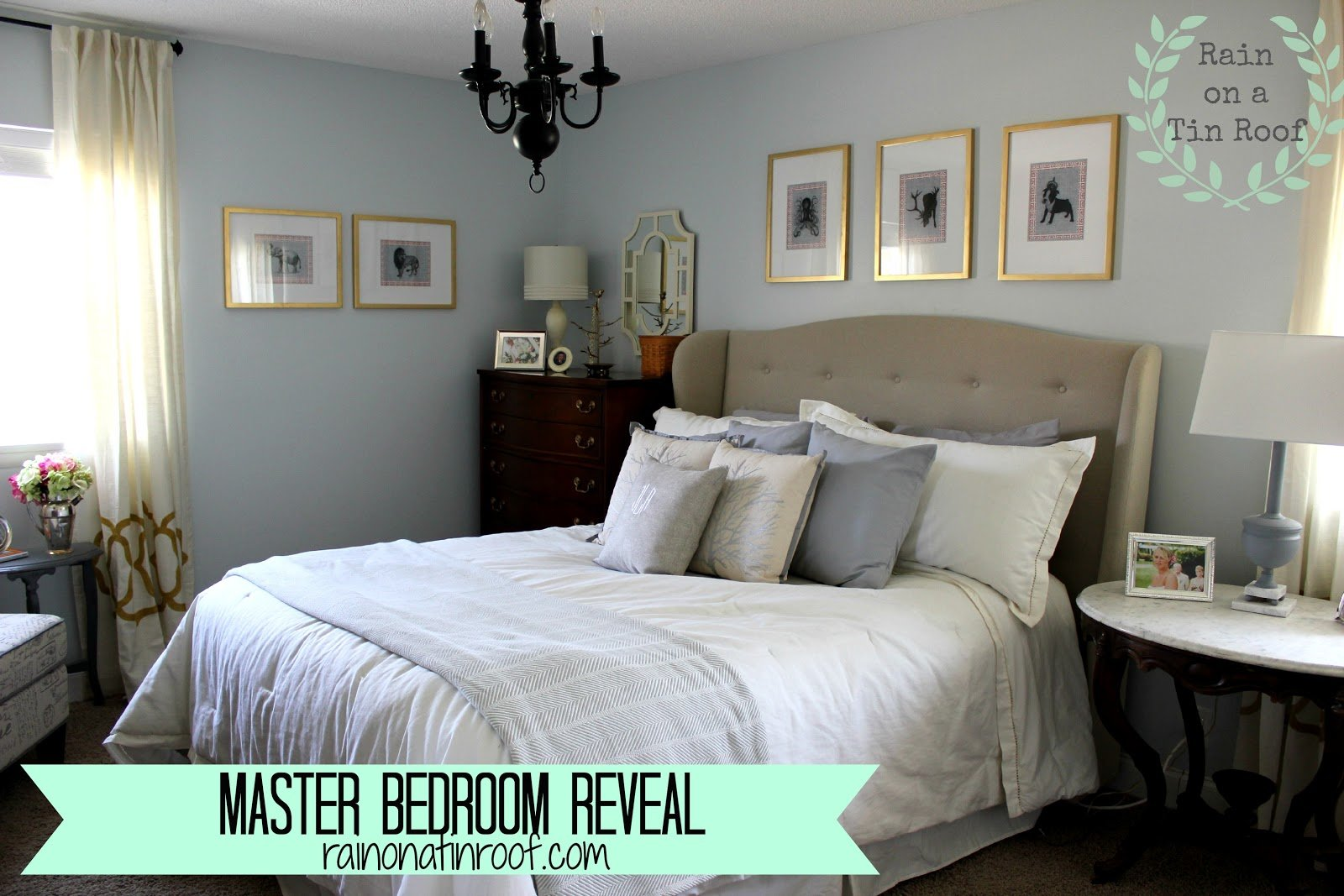 Best Master Bedroom Makeover Neutral Yet Beautiful With Pictures
