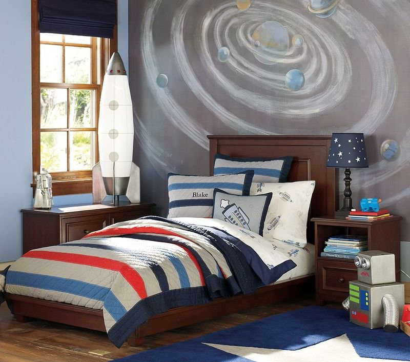 Best Dirtbin Designs Boys Space And Solar System Bedroom Ideas With Pictures