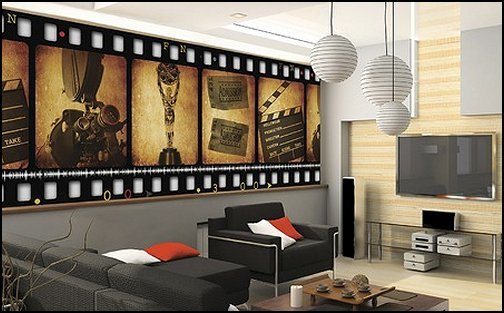 Best Decorating Theme Bedrooms Maries Manor Movie Room With Pictures