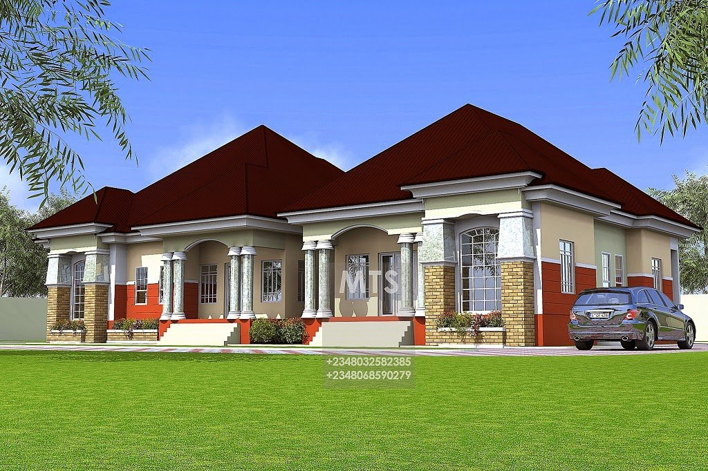Best Mr Tunde 2 3 Bedroom Semi Detached Bungalow Modern And With Pictures