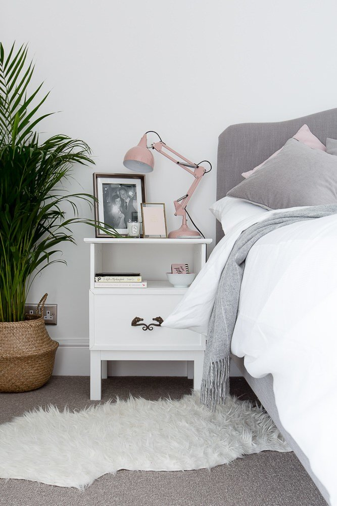Best Grey White Blush Bedroom With Pictures