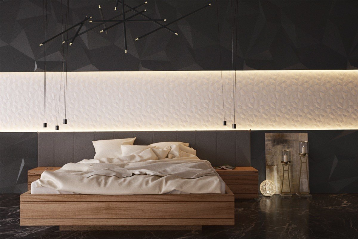 Best Gorgeous Dark Bedroom Designs With Minimalist And Playful With Pictures