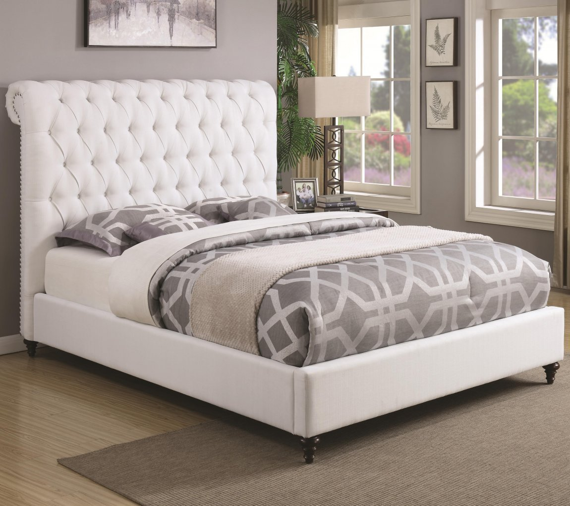 Best Upholstered Bedroom Furniture Diy Frame And Headboard Synonym Liberty Beds Queen Panel King Ikea With Pictures
