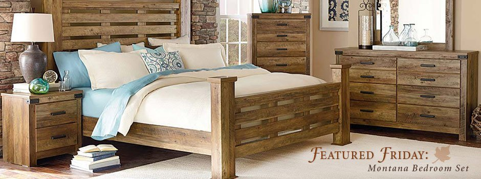 Best Featured Furniture Montana Bedroom Set With Pictures
