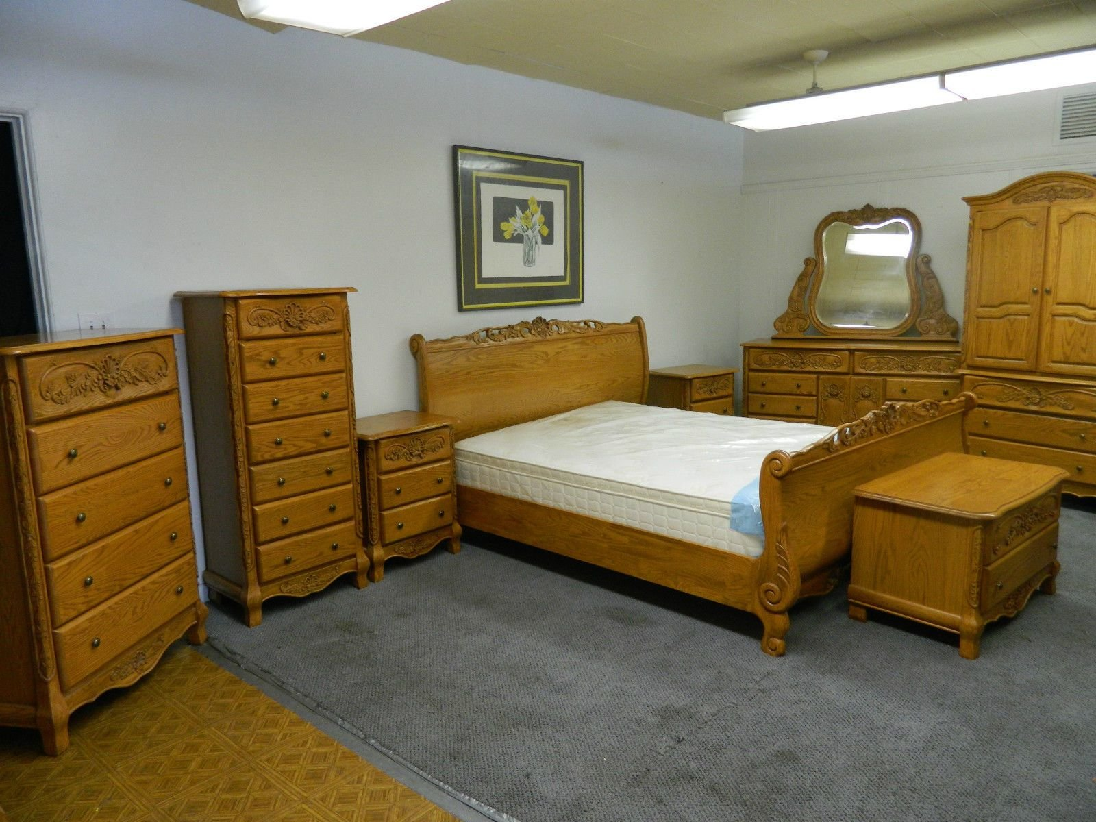 Best Oak Bedroom Furniture Canada Trend Manor Mission Spindle With Pictures