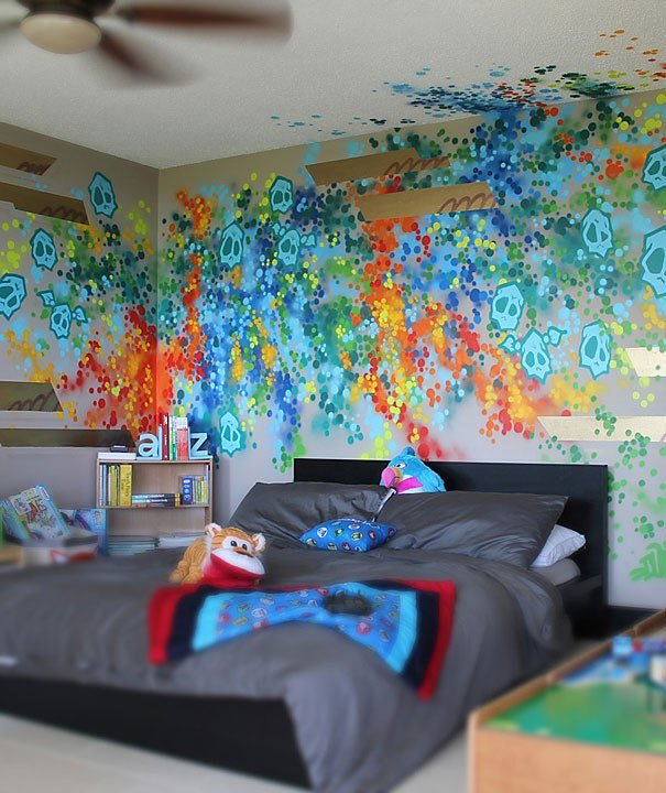 Best Dudeman Presents Fabulous Graffiti Furniture Best Home Ideas With Pictures
