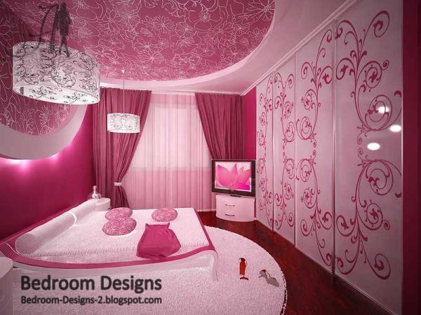 Best Pink Bedroom Designs Ideas Girl Room Design Ideas With Pictures