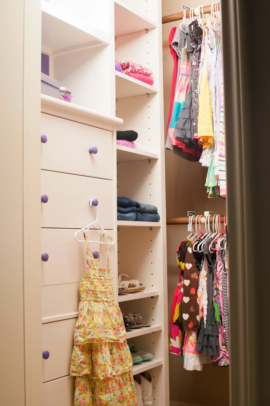 Best Mybellabug Girls Bedroom Diy Closet System Reveal With Pictures