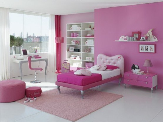 Best Bedroom Decoration Pink Color For Kids Girls With Pictures
