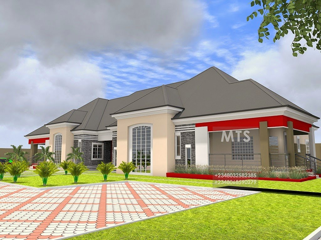 Best Mr Kunle 5 Bedroom Bungalow Modern And Contemporary With Pictures