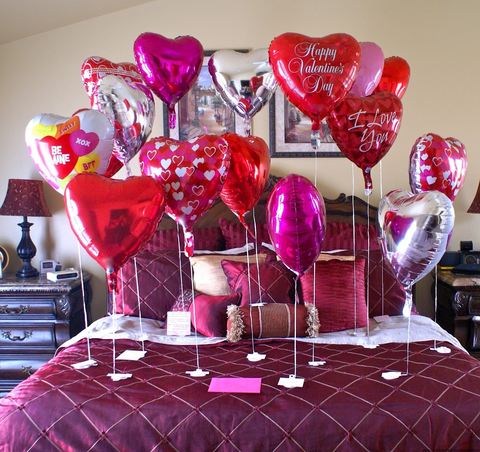 Best Valentine S Day Bed Room Decoration Ideas 2016 With Pictures