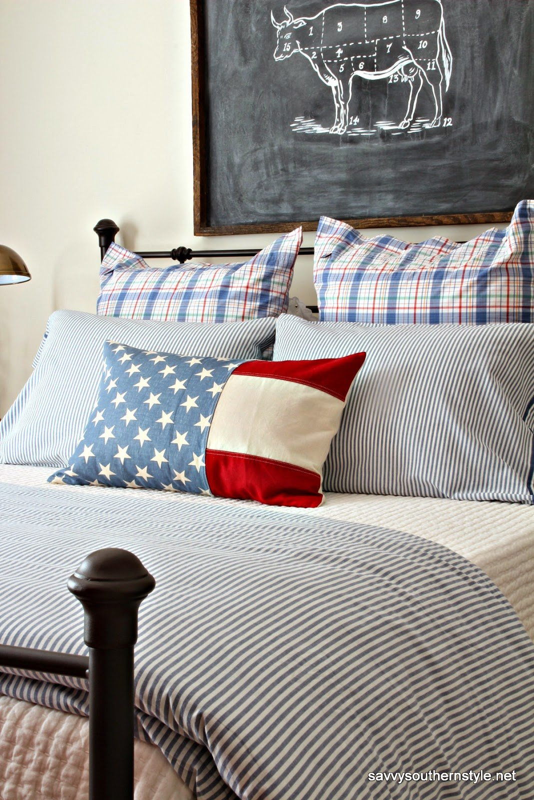 Best Savvy Southern Style A Patriotic Favorite Room With Pictures