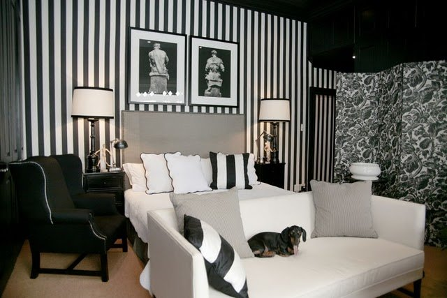 Best The Modern Sophisticate Timeless Black White Stripes With Pictures
