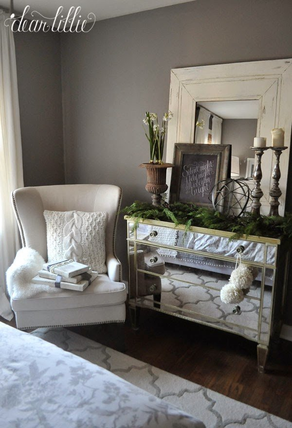 Best Dear Lillie Our Gray Guest Bedroom With Some Simple With Pictures
