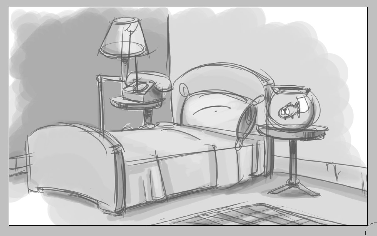 Best Lisa Dosson Bedroom Sketch With Pictures