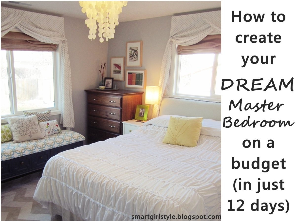 Best Smartgirlstyle Master Bedroom Makeover Putting It All With Pictures