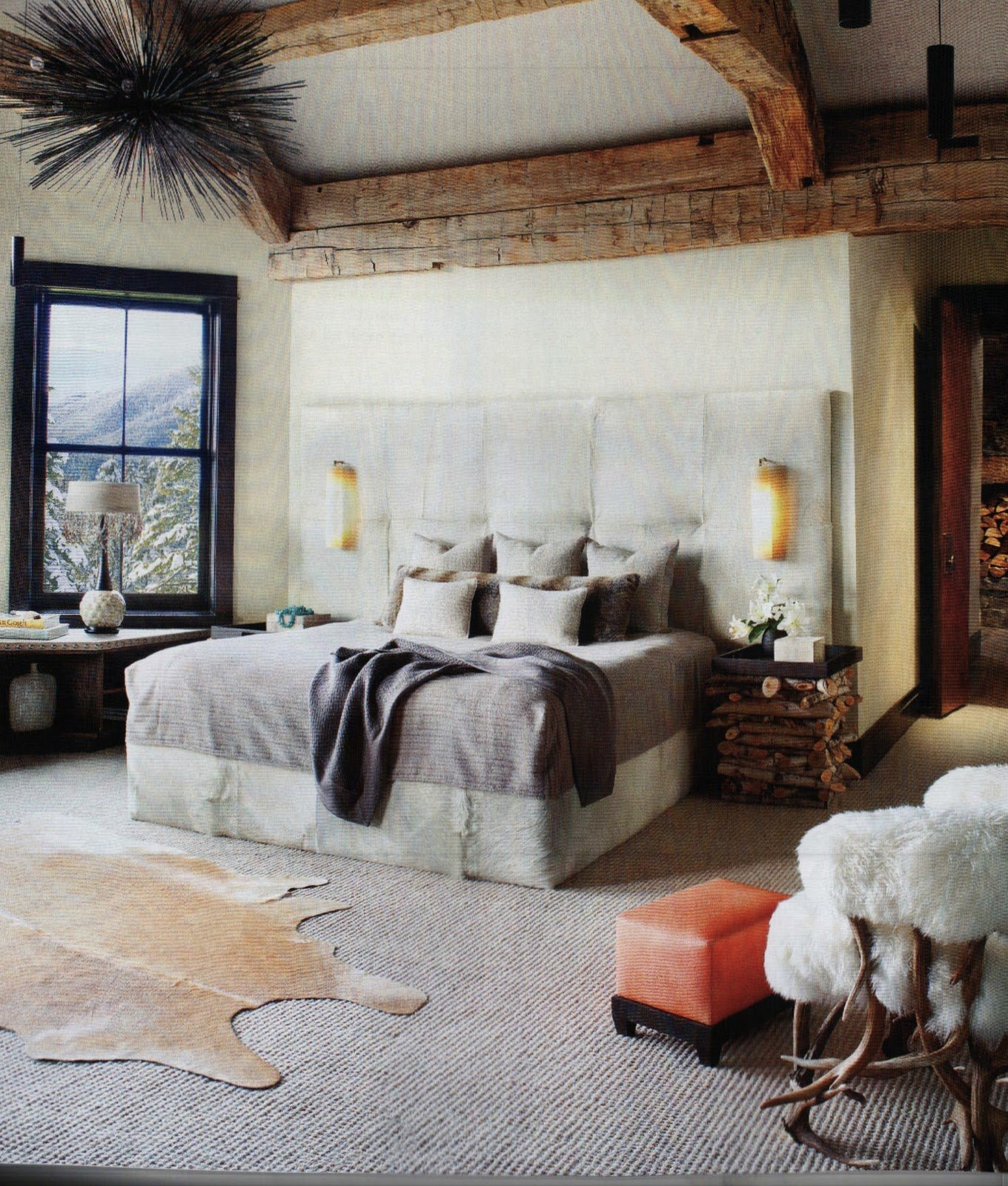 Best Luxe Mix In A Bedroom Rustic Glam Pinterest With Pictures