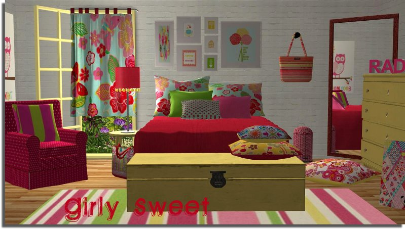 Best Sims 2 Creations By Tara Girly Bedroom With Pictures