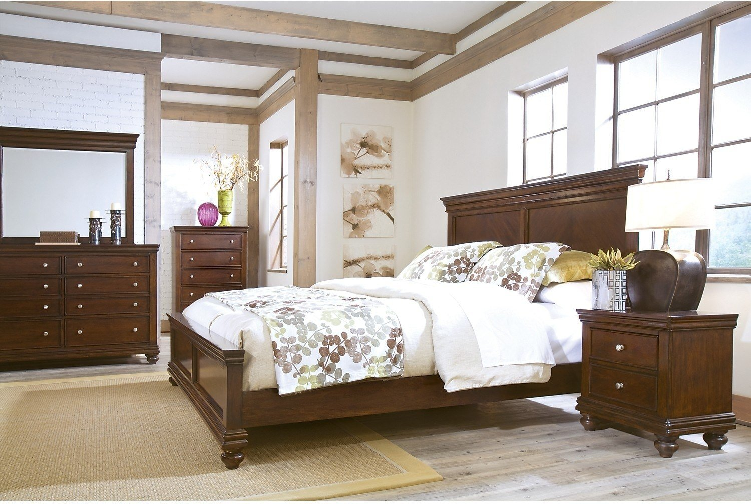 Best Bridgeport 7 Piece Queen Bedroom Set The Brick With Pictures