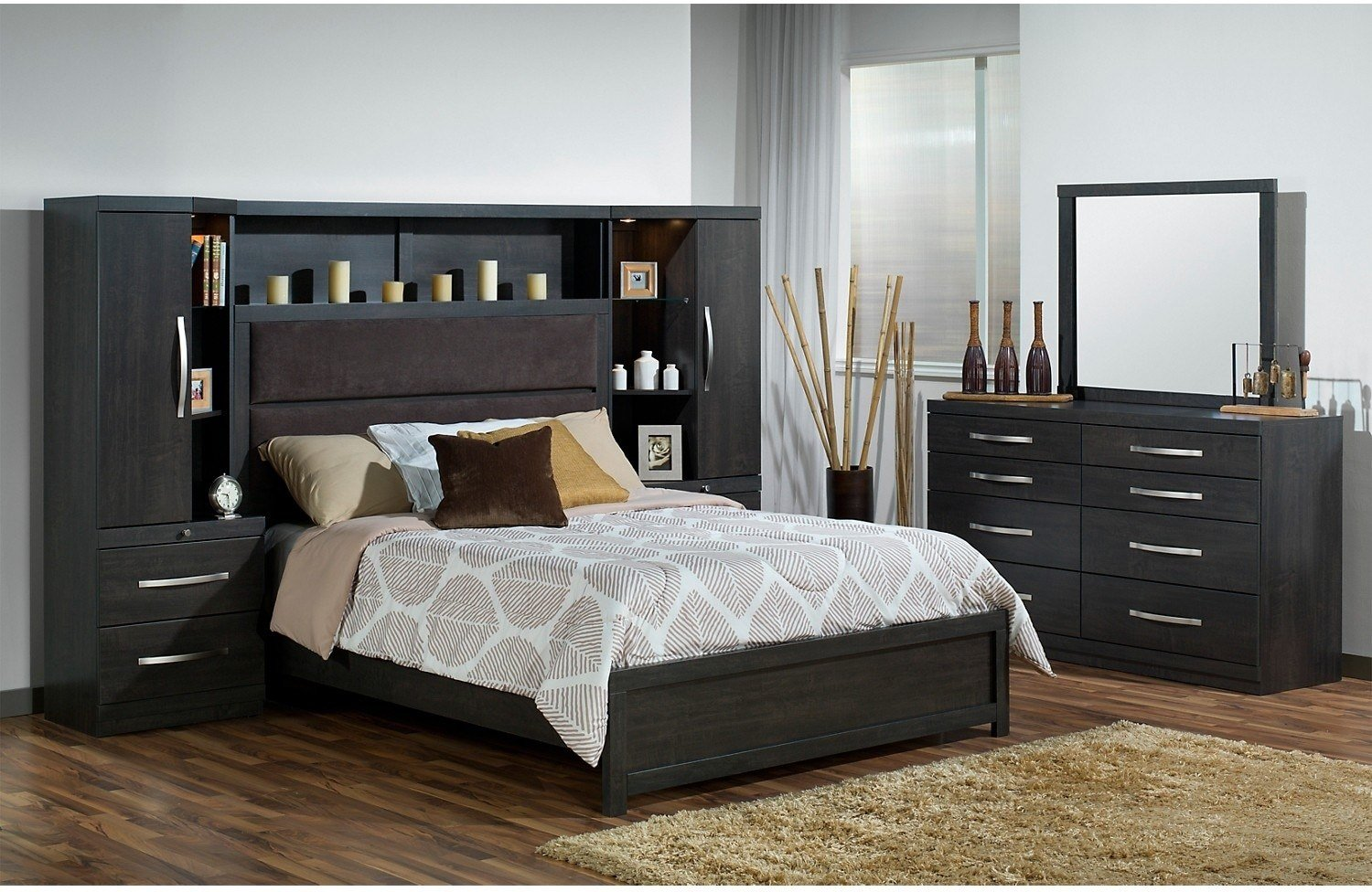Best Willowdale Queen 5 Piece Pier Bedroom Package The Brick With Pictures
