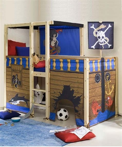 Best Bedroom How To Create Perfect Pirate Bedroom For Kids Pirate Boys Pirate Ship Bed Canada With Pictures