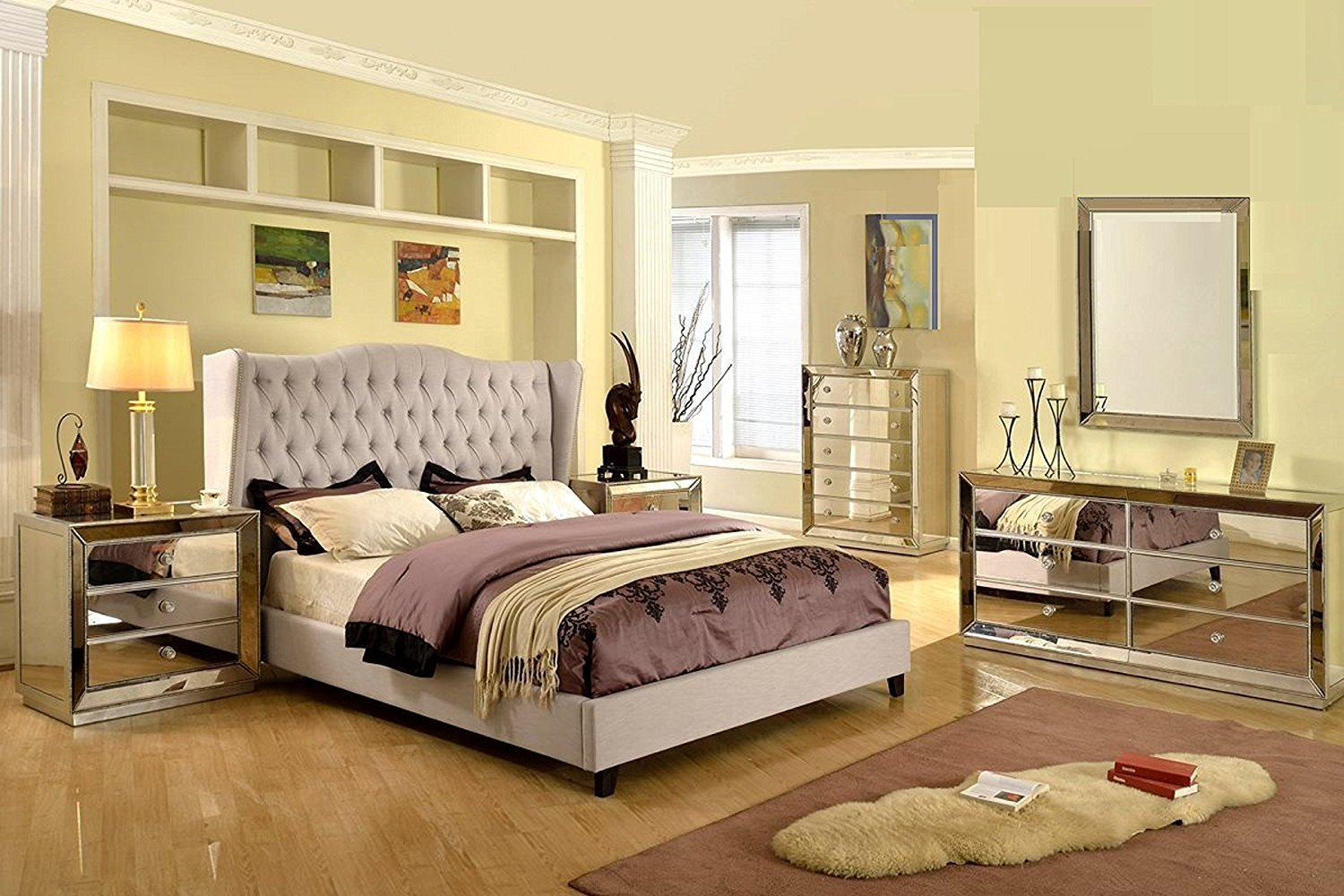 Best Mirrored Bedroom Furniture Sets Choice Cool Ideas For Home With Pictures