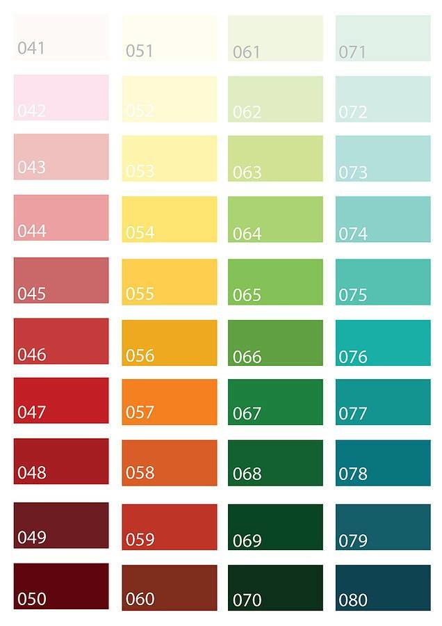 Best B Q Paint Colour Chart Bedrooms 28 Images 20 Best B With Pictures