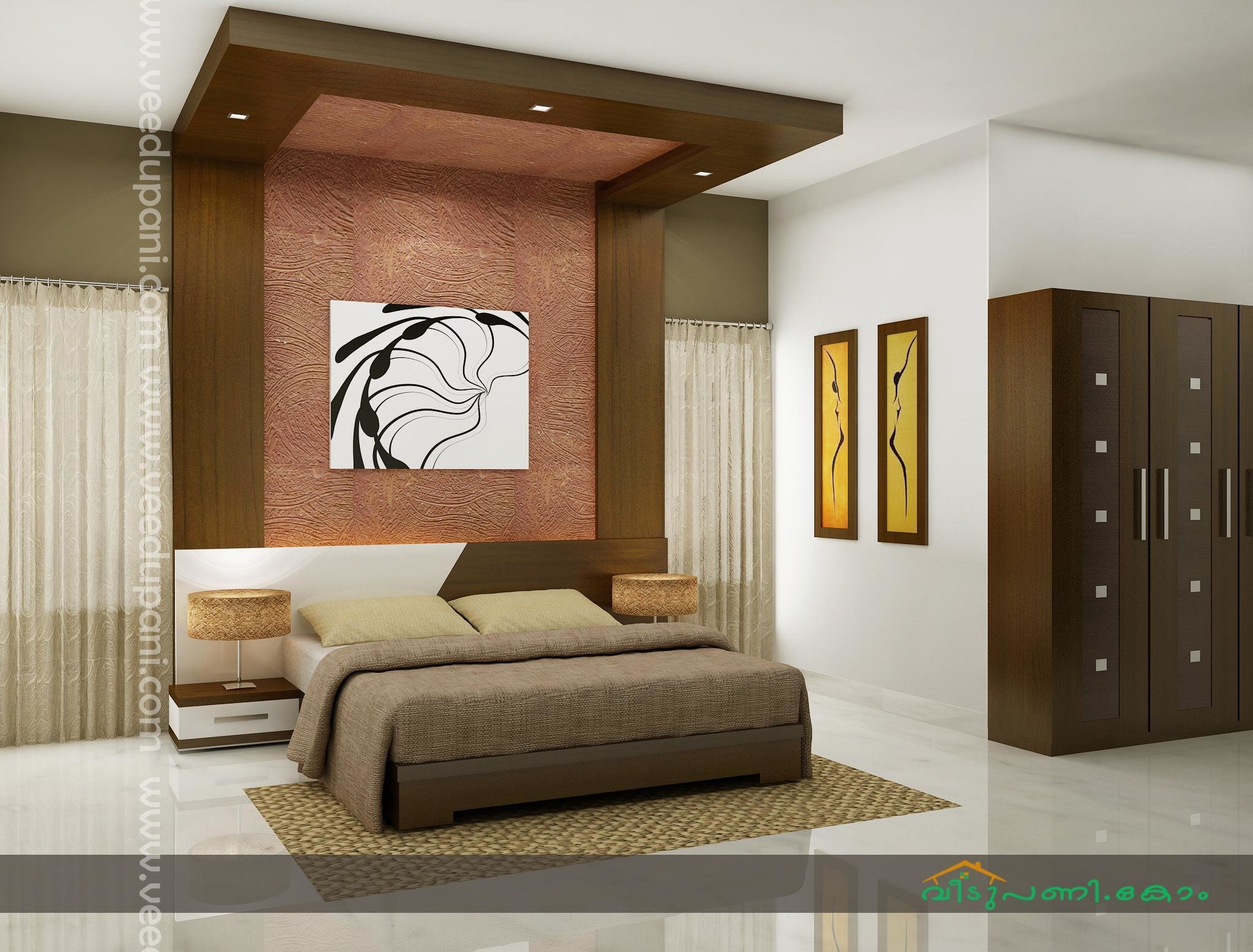 Best Bedroom Interior Photos Kerala Style Veedupani Com Woody With Pictures