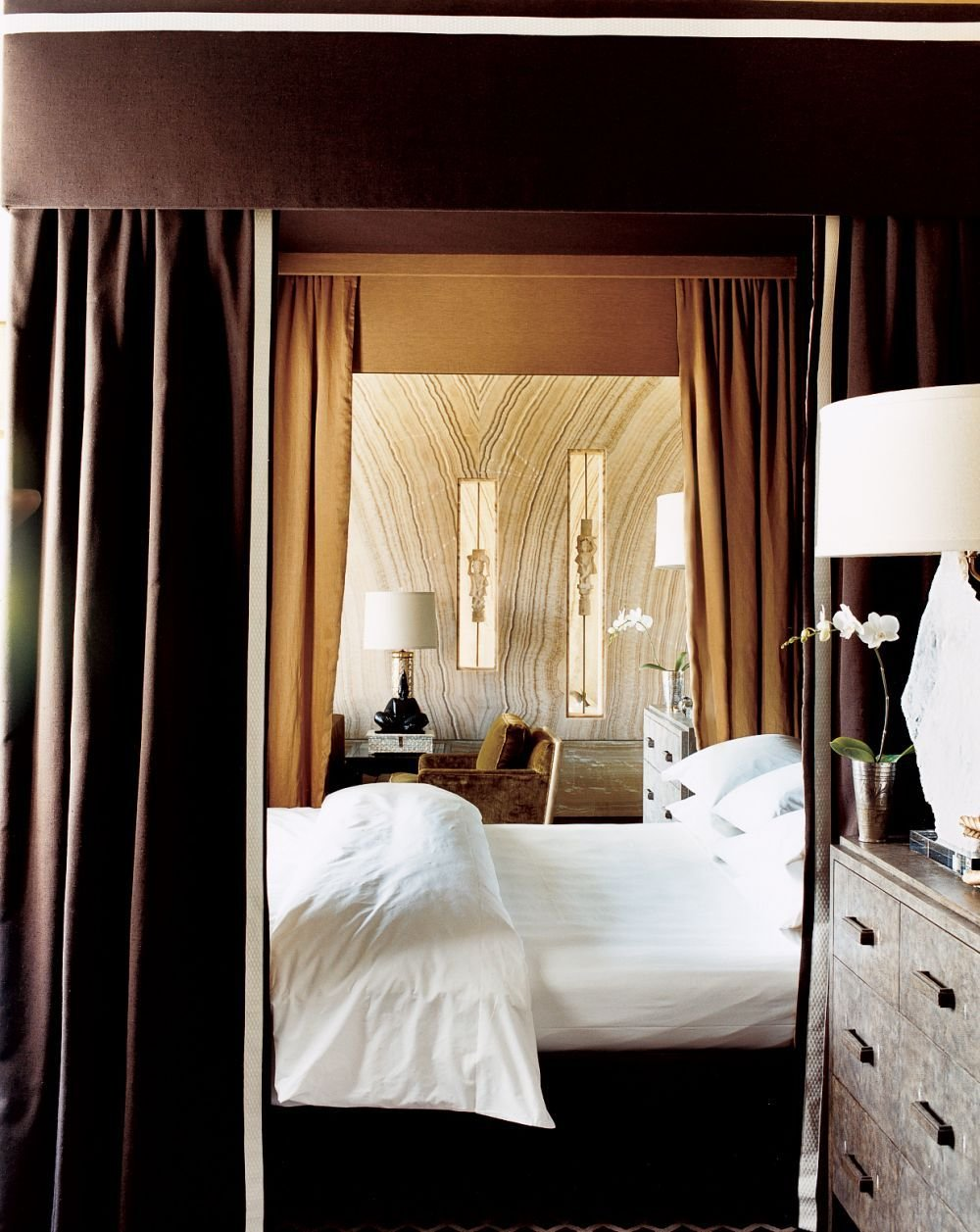 Best Modern Bedroom By Kelly Wearstler By Architectural Digest With Pictures