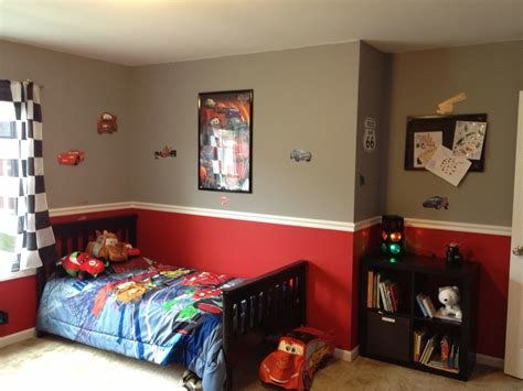 Best Bedroom Fantastic Disney Car Design Ideas With Round Red With Pictures