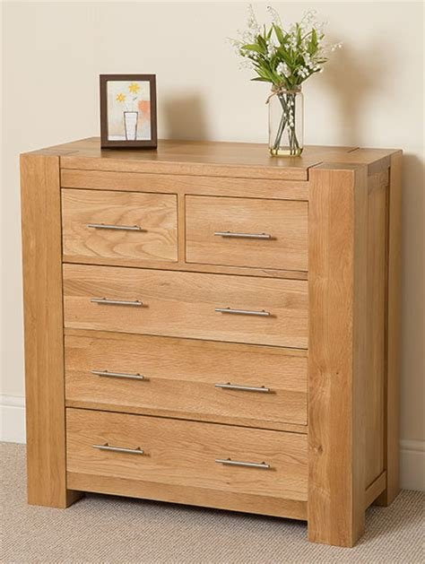 Best Kuba Chunky Solid Oak Wood 5 Drawer Chest Of Drawers 2 3 Bedroom Furniture Ebay With Pictures