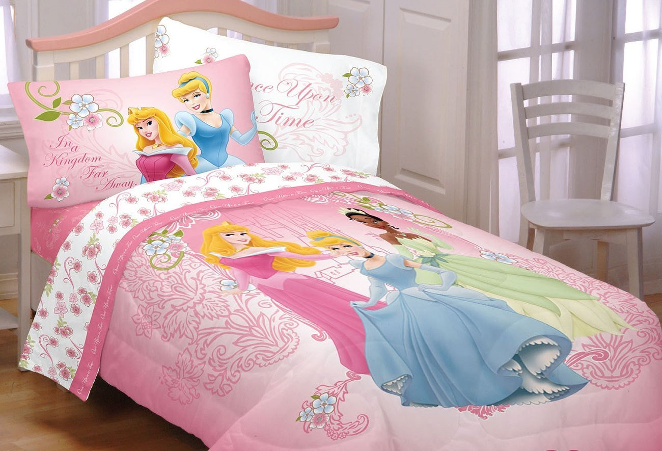 Best New Disney Princess Cinderella Twin Bedding Set Tiana With Pictures
