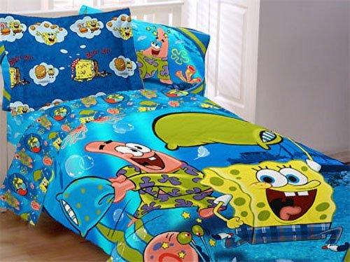 Best Spongebob Comforter Set Pajama Party Comforter Sham Twin With Pictures