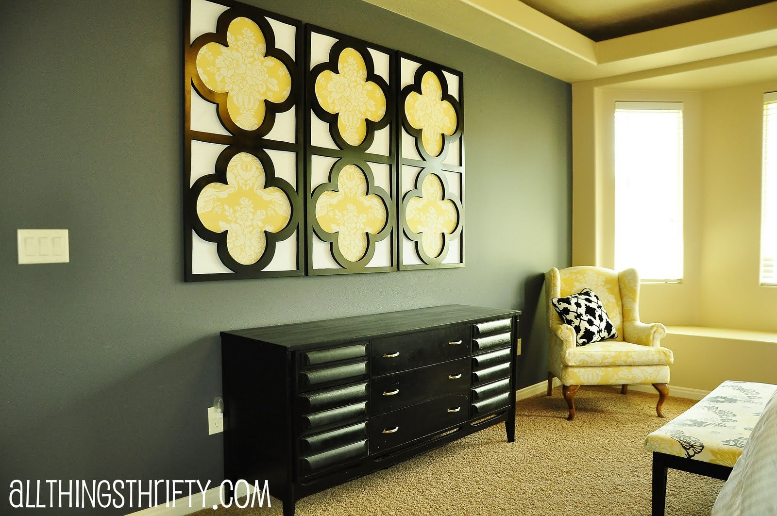 Best Tutorial Quatrefoil Diy Decorative Wall Art With Pictures