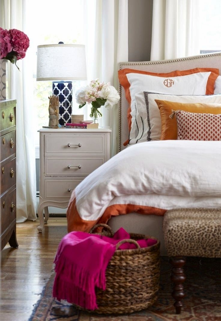 Best Miss Southern Prep Navy White Bedding With Pictures